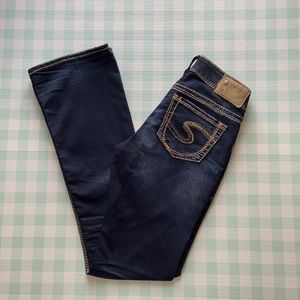 Silver Suki Mid boot cut jeans size 25